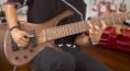 Brasilian superstar Michael Pipoquinha plays the FAME 6-string bass