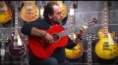Rafael Cortes plays live at MUSIC STORE Alhambra Guitars