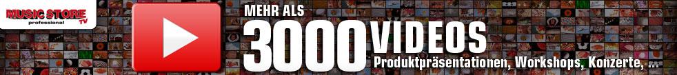Mehr als 3000 Videos auf unserem Newsblog