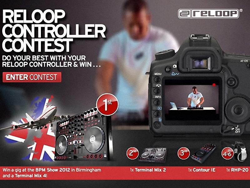 Reloop Controller Contest 2012