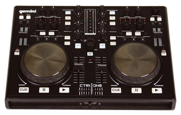 Gemini CTRL-One schnelles und punktgenaues Controlling für DJs