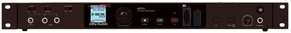Bestens geeignet für den Einsatz im Rack: Der RM3 Digital-Rekorder von iKEY AUDIO