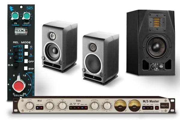 Musikmesse 2010: Outboard, Studiomonitore & Plug-Ins NEWS