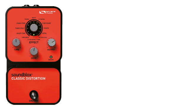 Neue Sounblox Classic Distortion Pedale