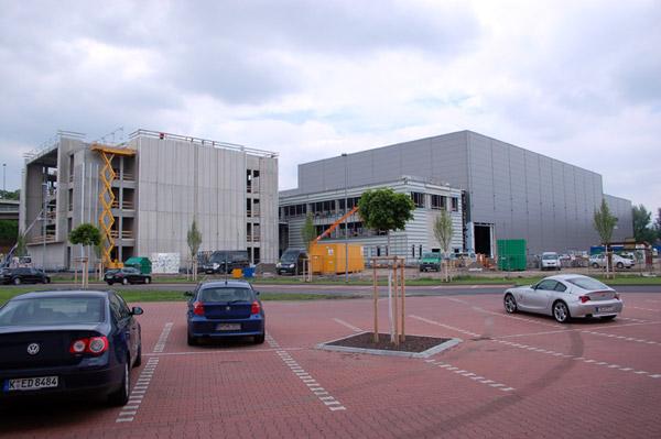 Neubau-Update vom 07.06.2010: Es nimmt Gestalt an!