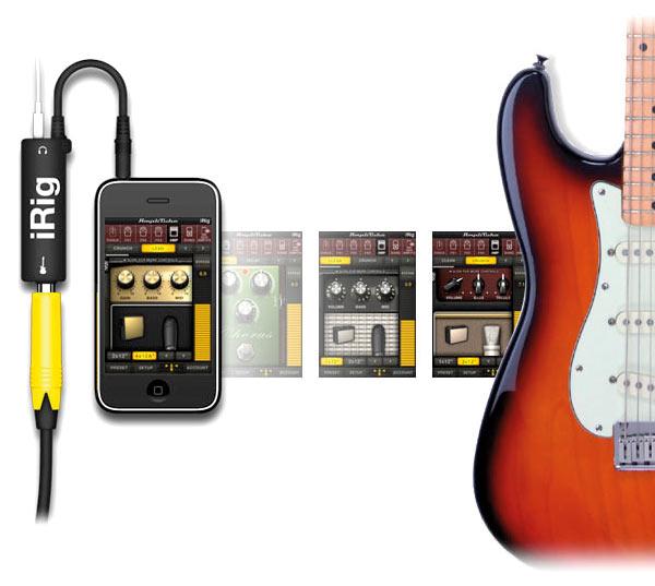 iPhone als Gitarren-Amp