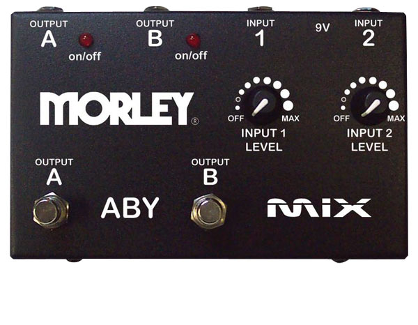 Morley ABY MIX-Pedal