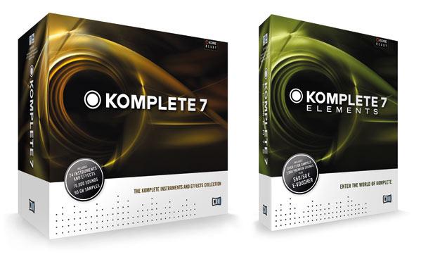 NI präsentiert Komplete 7 und Komplete 7 Elements