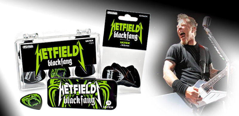 Neue DUNLOP James Hetfield Pleks