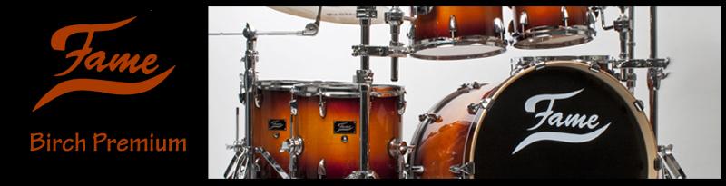 FAME Birch Premium Drums mit neuer Farbe!
