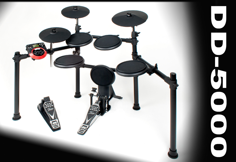 All you need is love & the FAME DD-5000 E-Drumset