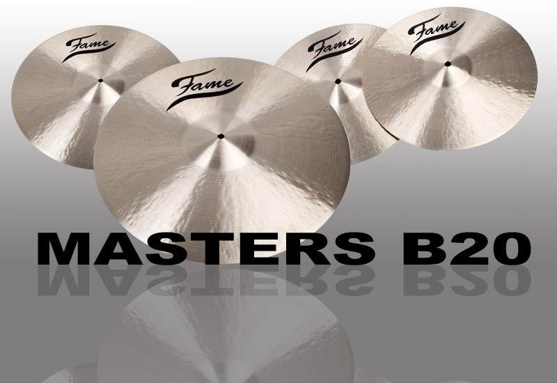 FAME Masters B20 Beckenserie erweitert!