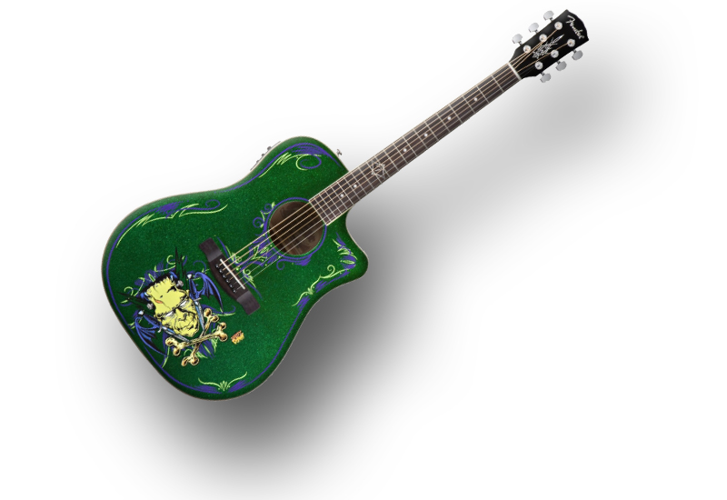 Good news: ab jetzt Fishman-Preamps in allen Fender Akustik-Gitarren