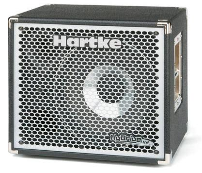 Neue Bassbox von Hartke!