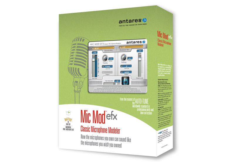 NEU – Antares Mic Mod EFX Microphone Modeler