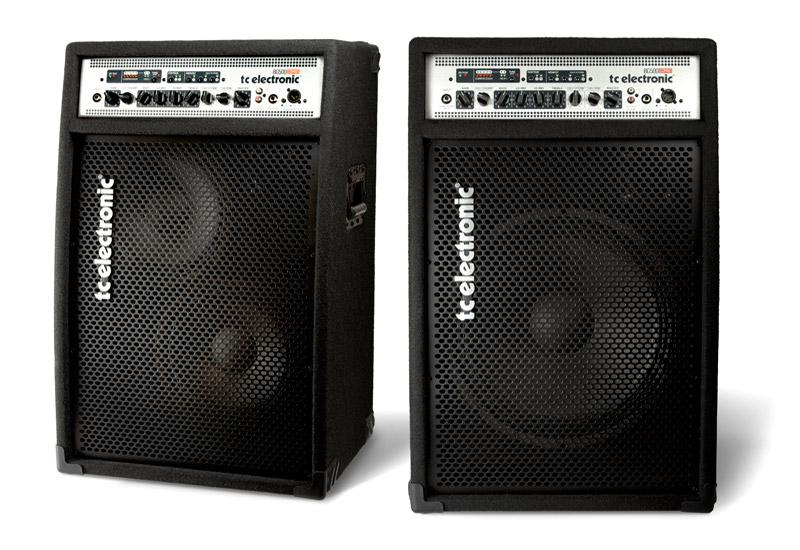 TC Electronic BG500 115 + BG500 210 Bass Combo