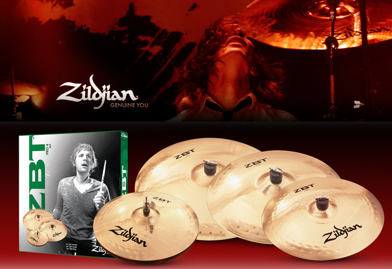 ZILDJIAN ZBT und Avedis Cymbal Sets mit gratis Crash !!!