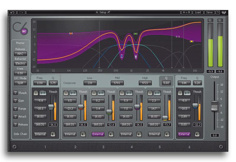 Waves C6: mehr Bänder, mehr Funktionalität