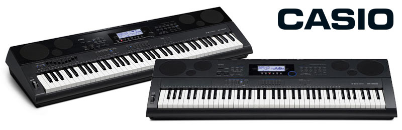 Brandneue Keyboardflaggschiffe von Casio