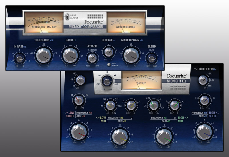 Focusrite Midnight Plug-In Suite