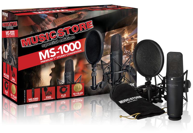 Exklusiv bei Music Store: das Røde MS-1000