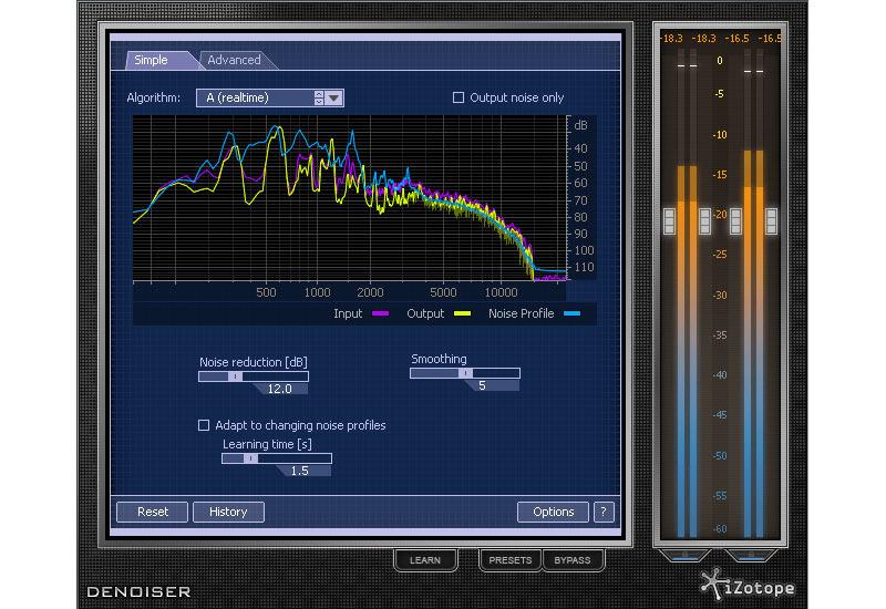 iZotope RX 2 – optimiertes Denoising und Decrackling