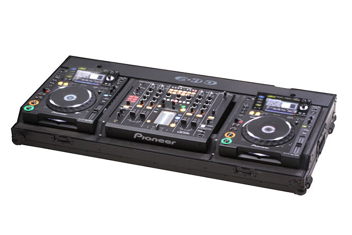Neues Case! Zomo Set 2200 NSE Flightcase für 2x Pioneer CDJ-2000 + 1x DJM-2000