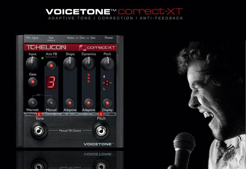 Neu bei TC Helicon – VoiceTone Correct XT