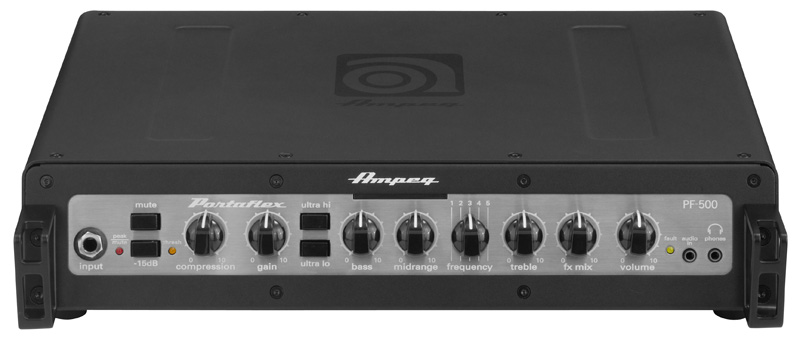 Ampeg PF-350 + PF500 Head Portaflex Serie – 2011 NAMM News