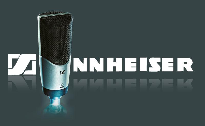 Großmembranmikrofon von Sennheiser