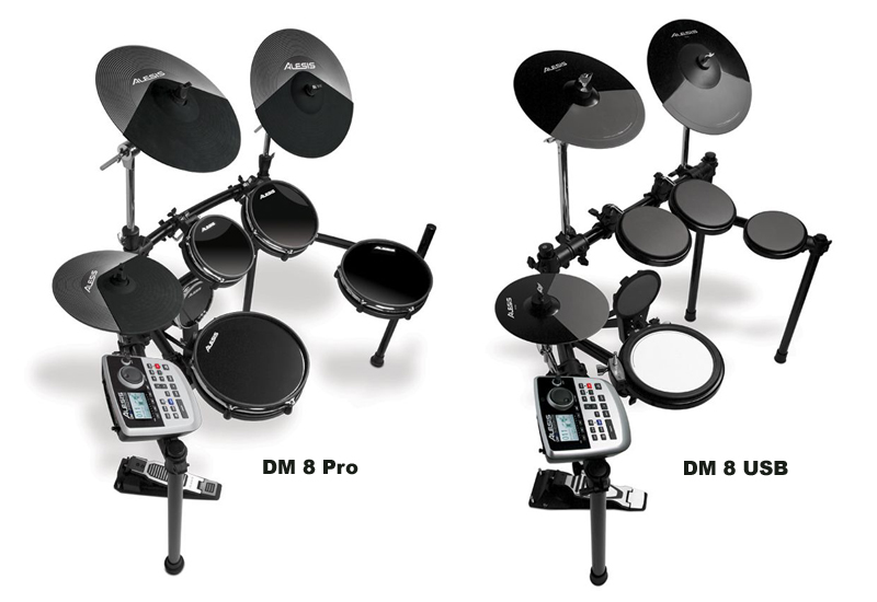 ALESIS DM8 USB und DM8 Pro E-Drumsets