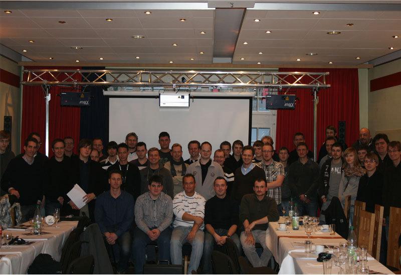 Laserseminar Februar 2011 – Ein voller Erfolg