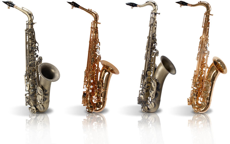 Le Monde Saxophone rocken die Bühne