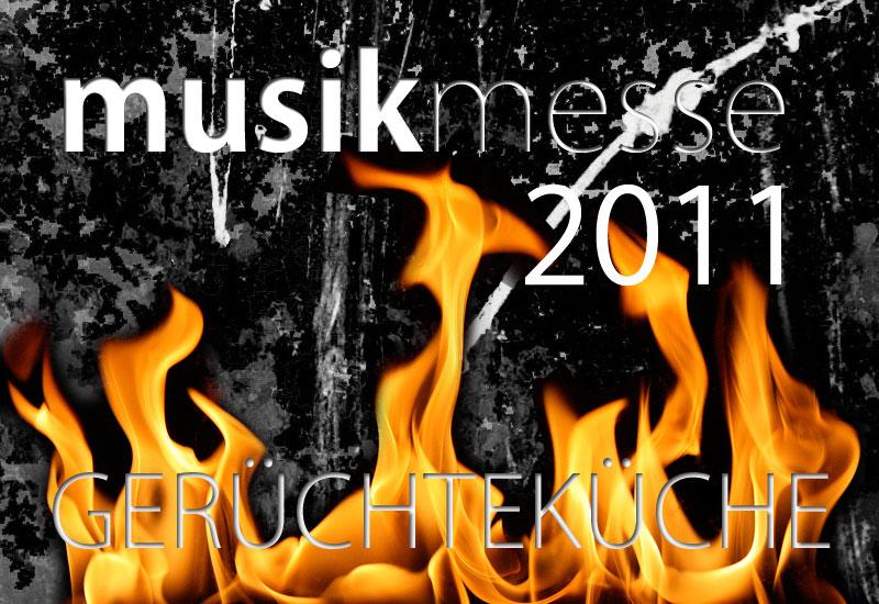 Musikmesse Frankfurt 2011 – MSTV Gerüchteküche