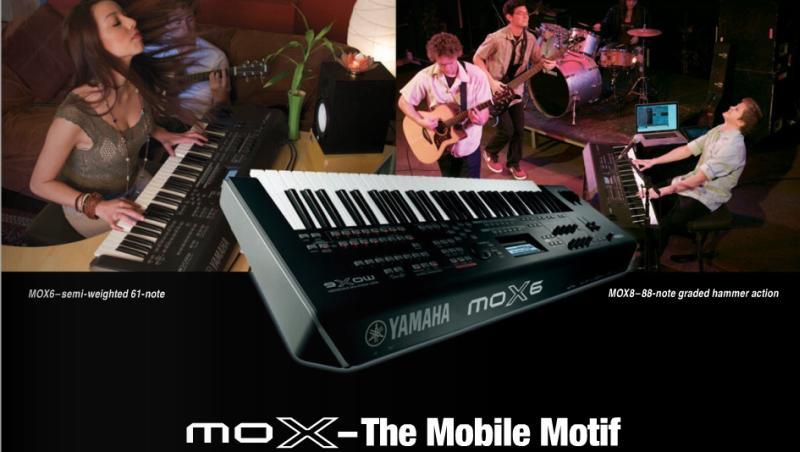 Musikmesse 2011: Yamaha MOX6 & MOX8