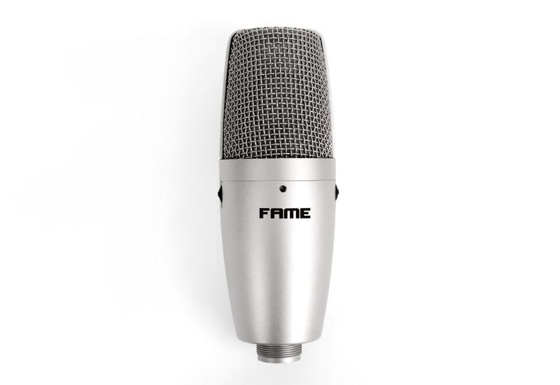 Endlich: das ideale Studiomikrofon für den Einstieg – Fame CU3