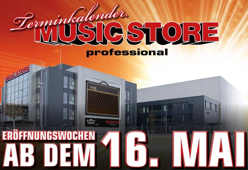 Terminkalender zu den Eröffnungswochen ab 16. Mai 2011