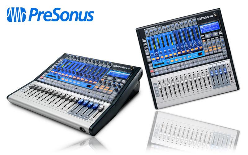 Presonus StudioLive in Mini-Version