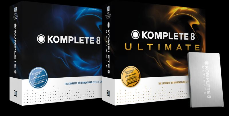 NI Komplete 8 und Komplete 8 Ultimate – Jetzt vorbestellen!
