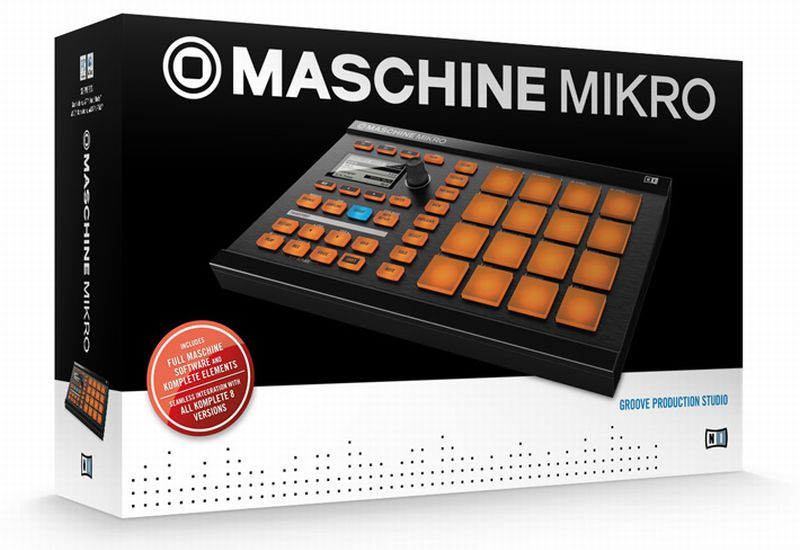 Native Instruments – MASCHINE mikro angekündigt