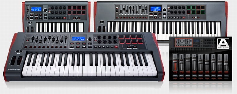 Novation Impulse Controller Masterkeyboards kommen…