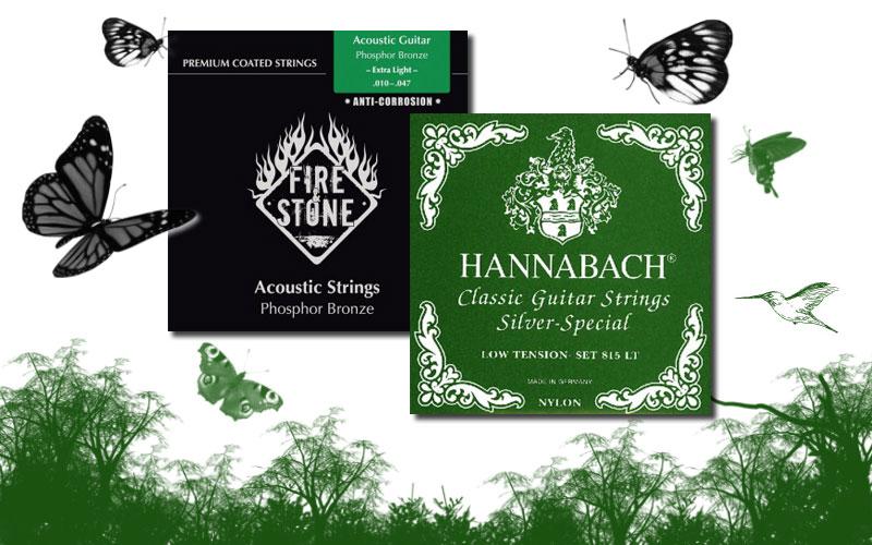 Hannabach Green Line Gitarrensaiten