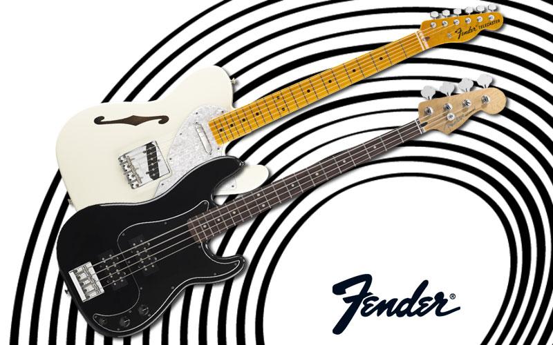 Verkehrte Welt bei Fender