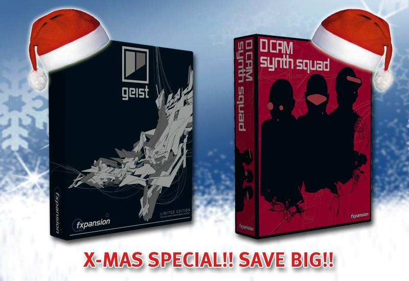 FXpansion: GEIST & DCAM:Synth Squad billig wie nie zuvor!
