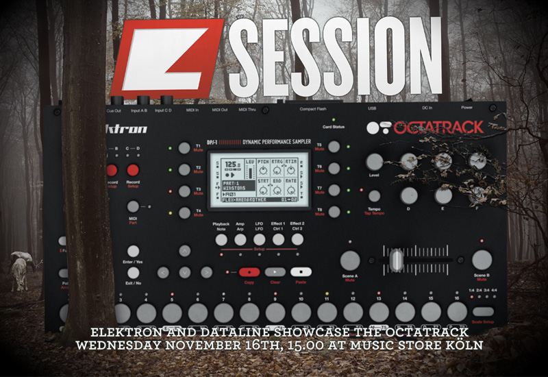 Elektron – Live im MUSIC STORE am 16. November