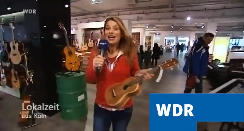 WDR Lokalzeit zu Gast im MUSIC STORE