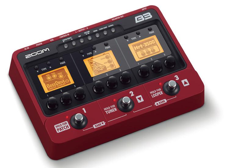 Zoom B3 – Der Bass-Bruder vom G3