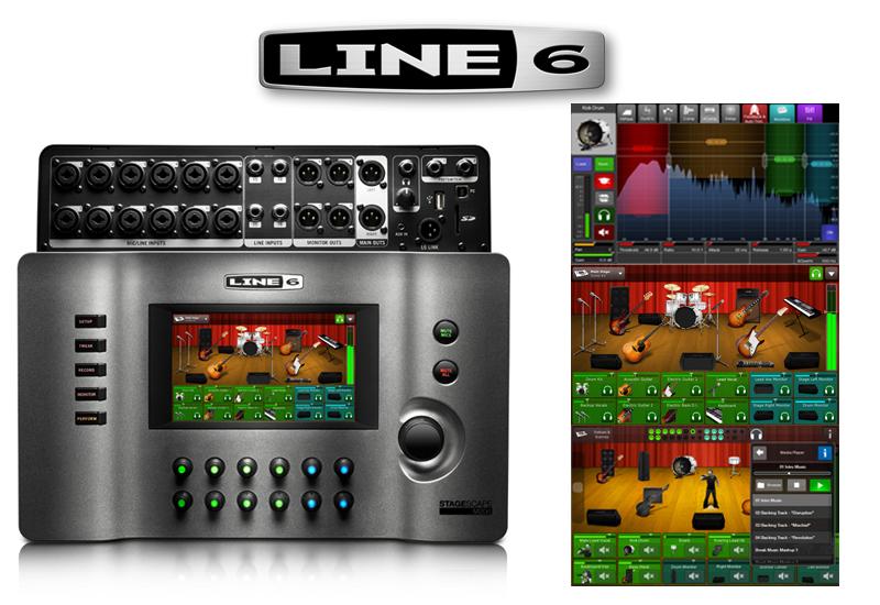 Line 6 StageScape M20d – Live-Mischpult mit Touchscreen und umfangreichen Features