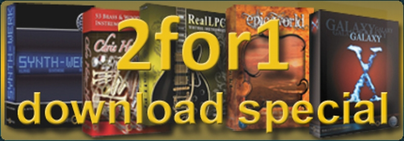Best Service 2 für 1 Download Special !