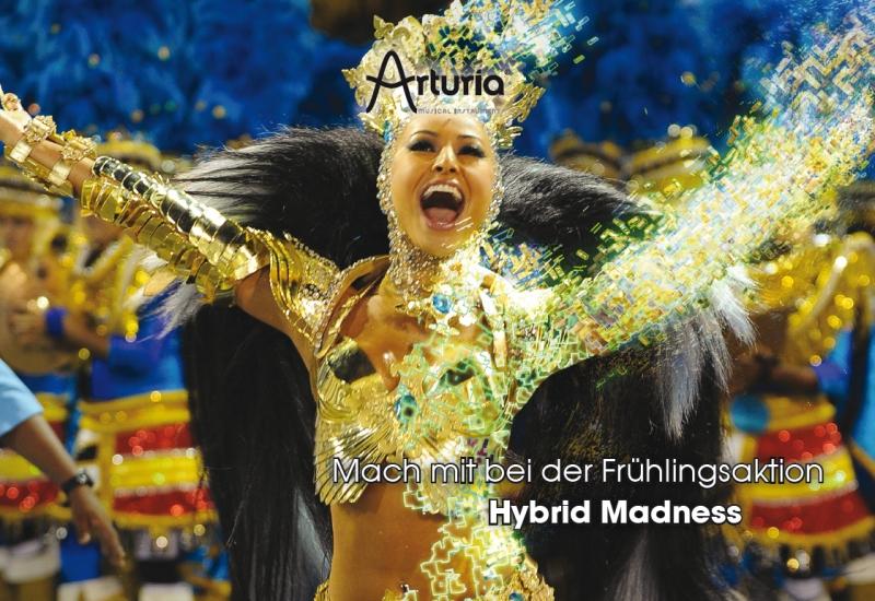 Arturia Hybrid Madness Aktion: Kaufen und Instrumente gratis!